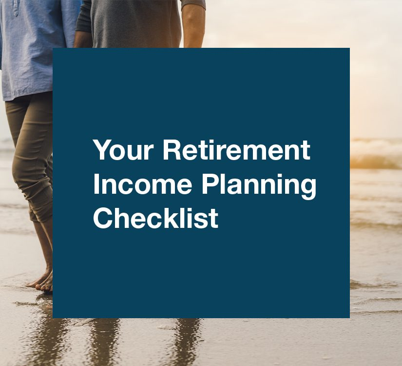 Retirement Income Planning Checklist