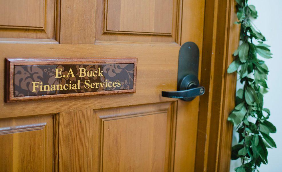 Kailua-Kona Financial Planner Door